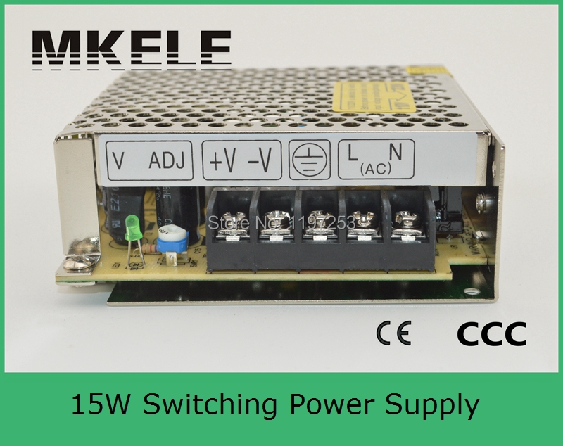 General useage single output switch power supply 15w 24vdc power supply 0.7a S-15-24 0.7A single board arm wtih ce certification