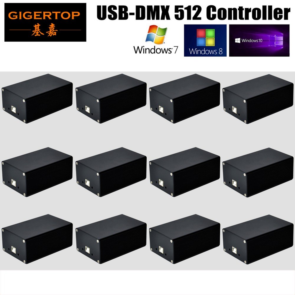 Fast shipping Quman DMX 512 Led Stage Light PC Controller Software New Version HD 512 Box Avolites Pearl2004 /Diamond 4/Titan