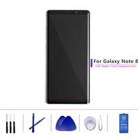 Супер AMOLED с рамкой для samsung Galaxy Note 8 Note8Lcd дисплей сенсорный экран дигитайзер N950