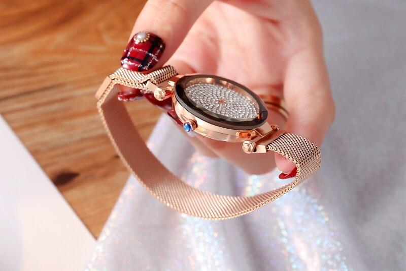 Gold Quartz Watches Ladies watch (6)