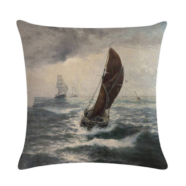 Old Fashioned Ship Cushion Covers  2