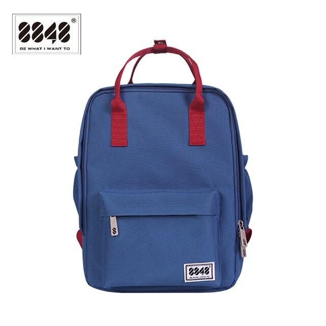 b2489ff1d2 8848 Brand Backpack School Bag Women s backpack Fashion Style Travel  Knapsack Student School Spring Shoulder Bag 003-008-006