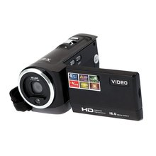 "EDT-HDV-107 Digital Video Camcorder Camera HD 720P 16MP DVR 2.7"" TFT LCD Screen 16x ZOOM Black"