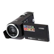 "EDT-HDV-107 Digital Video Camcorder Camera HD 720P 16MP DVR 2.7"" TFT LCD Screen 16x ZOOM Black"