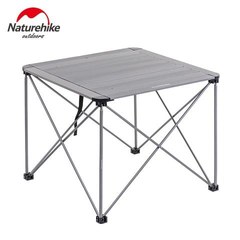 naturehike liga de aluminio mesa ao ar