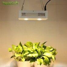 Populargrow viruta DEL CREE 400 W COB espectro completo llevado crece ligero para hidropónico del invernadero plantas medicinales crecimiento tienda comercial