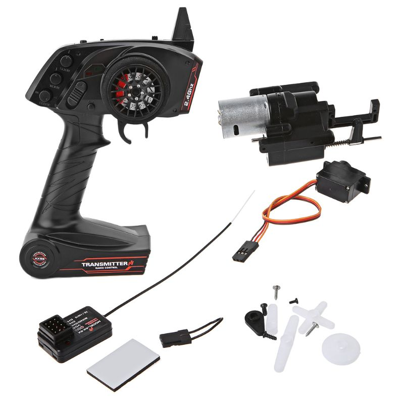 For WPL B1 B24 B16 C24 1/16 4WD 6WD Rc Car 3CH Radio Transmitter And Speed Change Gear Box Super Active Throttle Limit RangeFor WPL B1 B24 B16 C24 1/16 4WD 6WD Rc Car 3CH Radio Transmitter And Speed Change Gear Box Super Active Throttle Limit Range