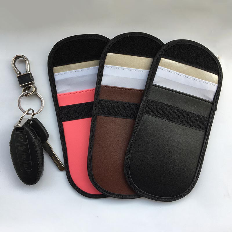 2Pcs Keyfob RFID Blocking Bag Guard Protector Device for Wireless Car Keys Credit Cards M86172Pcs Keyfob RFID Blocking Bag Guard Protector Device for Wireless Car Keys Credit Cards M8617