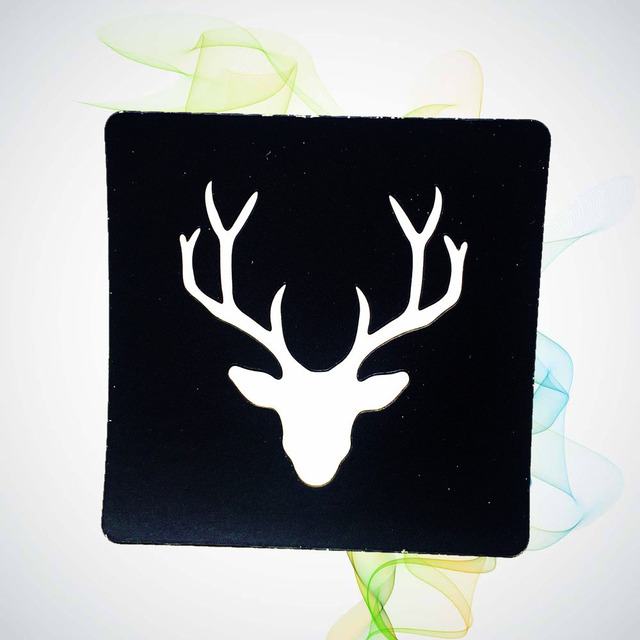 Deer Horn Water Transfer Tattoo Template Stickers HG125 Girl Body