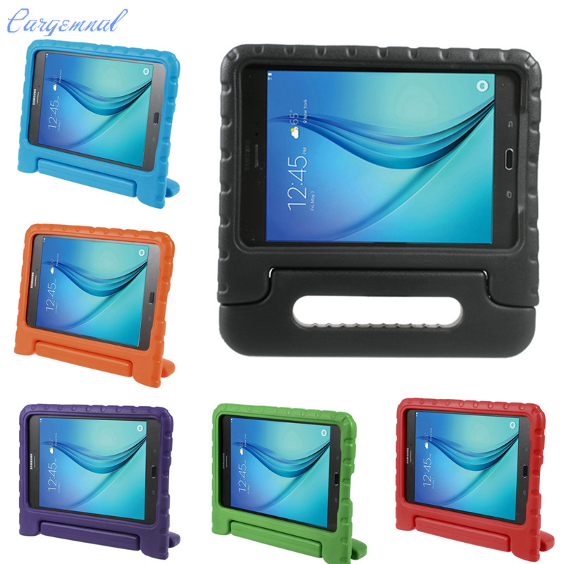 EVA Super Kids Shock Proof Silicone Case Cover For Samsung Galaxy Tab A 8 inch T350 T355 Tablet Handbag Perfect Safe Protection