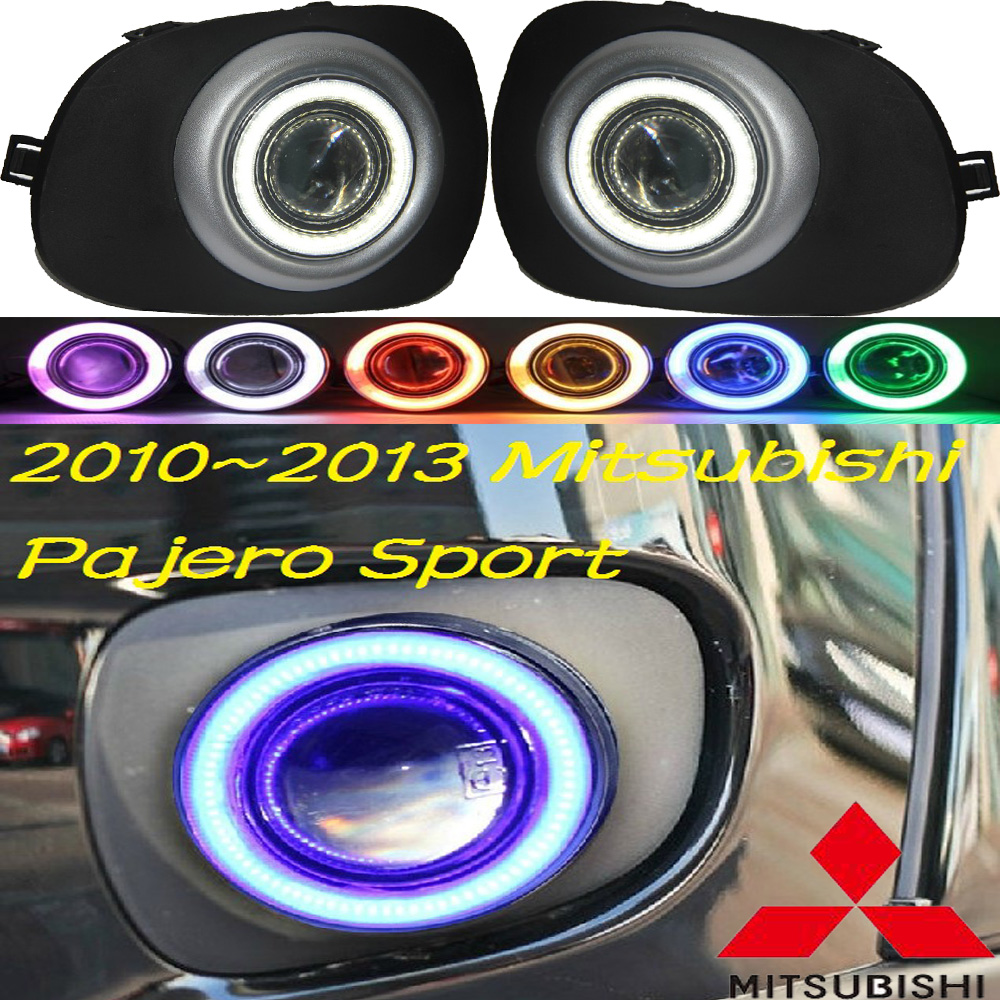 Pajero fog light 2010~2013 Free ship!Pajero daytime light,Montero,2ps/set+ wire ON/OFF:Halogen/HID XENON+Ballast,Pajero-in Car Light Assembly from ...