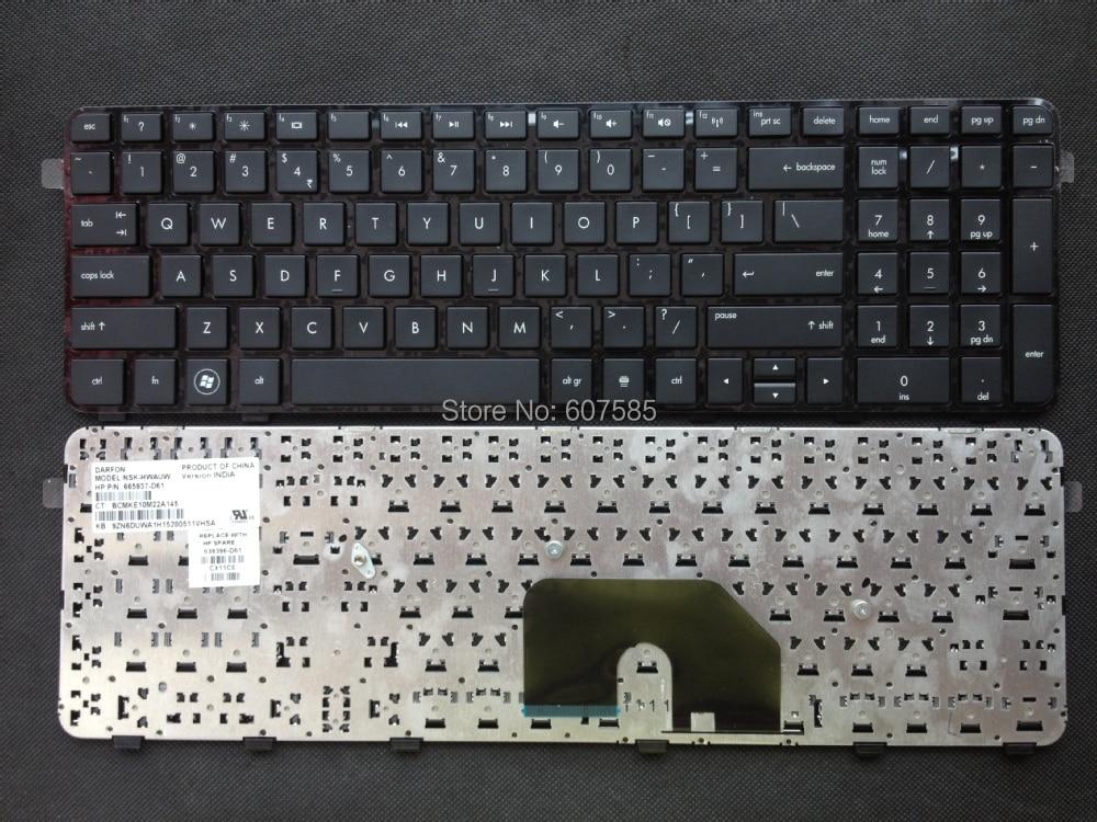 For HP DV6-6000 DV6-6100 DV6-6200 DV6-6b00 DV6-6c00 DV6-6090 Keyboard US Black
