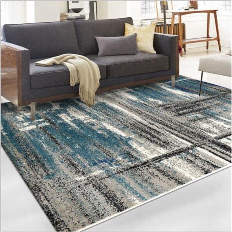 Nordic Style Abstract Creative Design Carpets For Living Room Bedroom Kid Room Rugs Home Carpet Floor Door Mat Hot Sale Area Rug