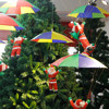 2017 Fashion And Cute Merry Christmas Decor Toy Doll Gift Home Tree Children Kids Santa Parachute
