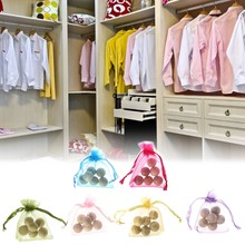 1Bag Cedar Wood Moth Balls Camphor Repellent Wardrobe Clothes Drawer Safety Bead JUL-20A(China)