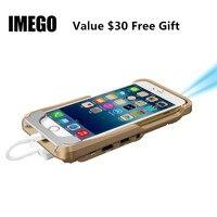 Pico Мини-проектор карман DLP мобильный телефон 1080 P дома Кино Пико Портативный Micro HD для iPhone X 7 8 плюс iPad подарок i60 IOS