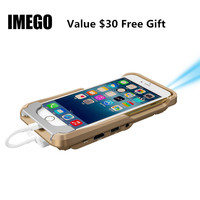 Mini Projector LED Pocket DLP Mobile Phone 1080P Home Cinema For IPhone IPad Portable WIFI Pico