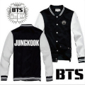 Kpop Bts Hoodies For Women Men Bangtan Boys Letter Printed Fans Supportive O Neck Sweatshirt Jacket Plus Size Tracksuits