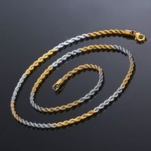 Boho Style Copper Metal Rope Chains Necklaces for Modern Women Trendy Fashion Necklace Jewelry Christmas Gift bijoux femme 2018