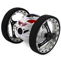 RC Car 2.4G Bounce Car Toys Remote Control Jumping Car With Flexible Wheels Rotation LED Light RC Robot Car Toy For Boys