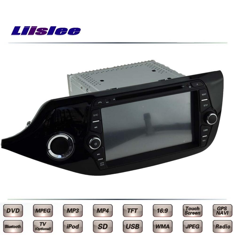 For KIA Ceed Cee'd JD 2012~2016 Car Multimedia TV DVD GPS Radio Original Style Navigation Liislee Advanced Navi цена