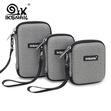 IKSNAIL Digital Case Protect Bags Box For WD Hard Drive Multi-size Power Bank USB Cable Charger External Hard Disk Pouch Case external storage hard case hdd ssd bag for storage oscoo 2 5 inch hard drive protection case for power bank usb cable charger