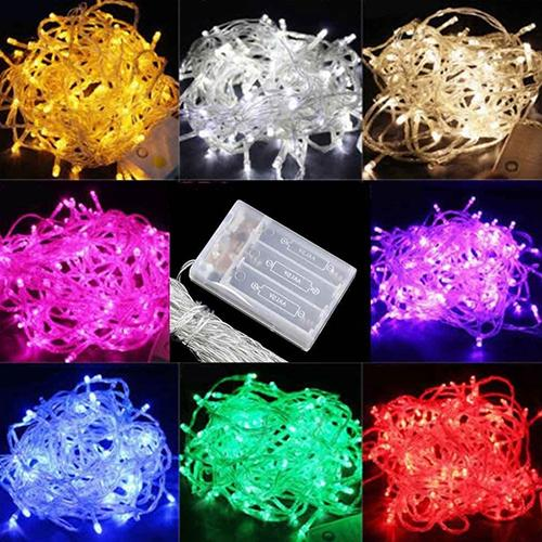 Event & Party Reliable 2m/3m/4m/5m/10m Led String Fairy Light Battery Powered Xmas Tree Decor Lamp In Pain