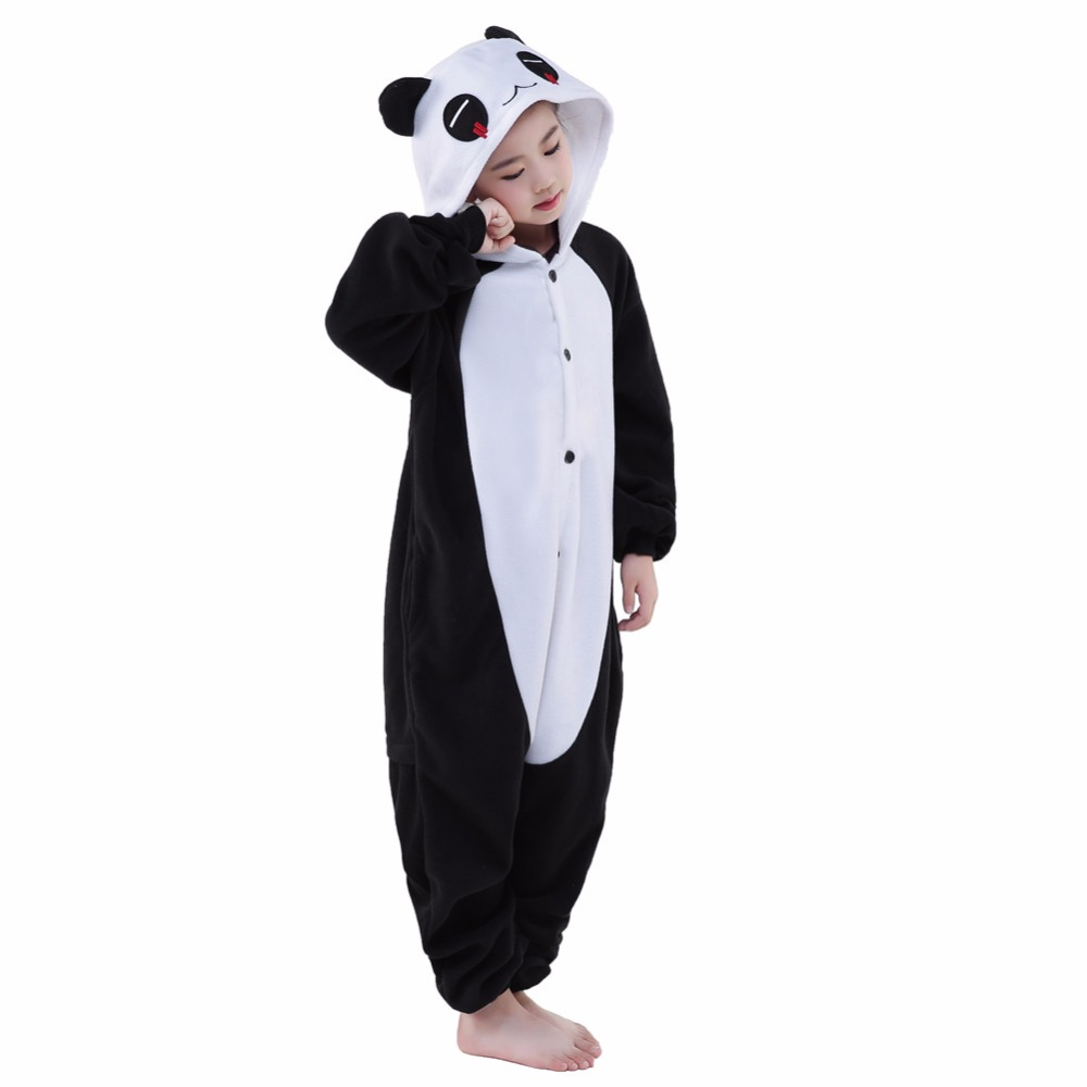 c94f3460d Newcosplay Unisex Cartoon Red Eye Panda Pajamas Anime Cosplay ...