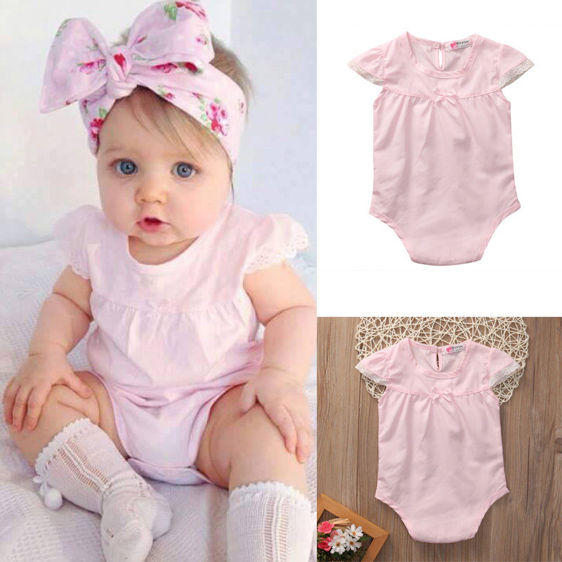 Children Newborn Toddler Girls Rompers Infant Baby Girl Romper Outfit Jumpsuit  Sunsuit Clothes fashion 2pcs set newborn baby girls jumpsuit toddler girls flower pattern outfit clothes romper bodysuit pants