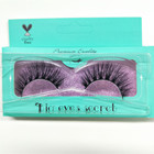 New Styles 3D Mink False Eyelashes Top Quality Custom Lashes Packaging Mink Lashes 3D Mink Strip Lashes free shipping
