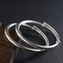 61f873582e9 Buy silver matte bangle and get free shipping on AliExpress.com