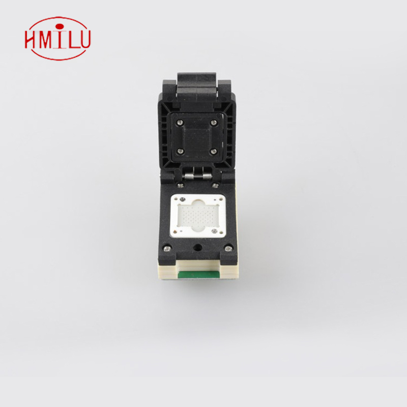 LGA60 Pogo Pin Probe Flash Programmer Adapter test socket Burn in Test Socket for naviplus PRO3000S NAND programmer nand socket emmc100 socket bga100 test android phone nand flash emmc reader programmer socket adapter usb interface to read by pc directly