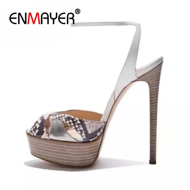 ENMAYER    Casual  Buckle Strap  Womens Shoes  Sandalias Mujer 2019  Shoes Woman Sandals  Tacos Mujer Size 34-43 ZYL2499ENMAYER    Casual  Buckle Strap  Womens Shoes  Sandalias Mujer 2019  Shoes Woman Sandals  Tacos Mujer Size 34-43 ZYL2499