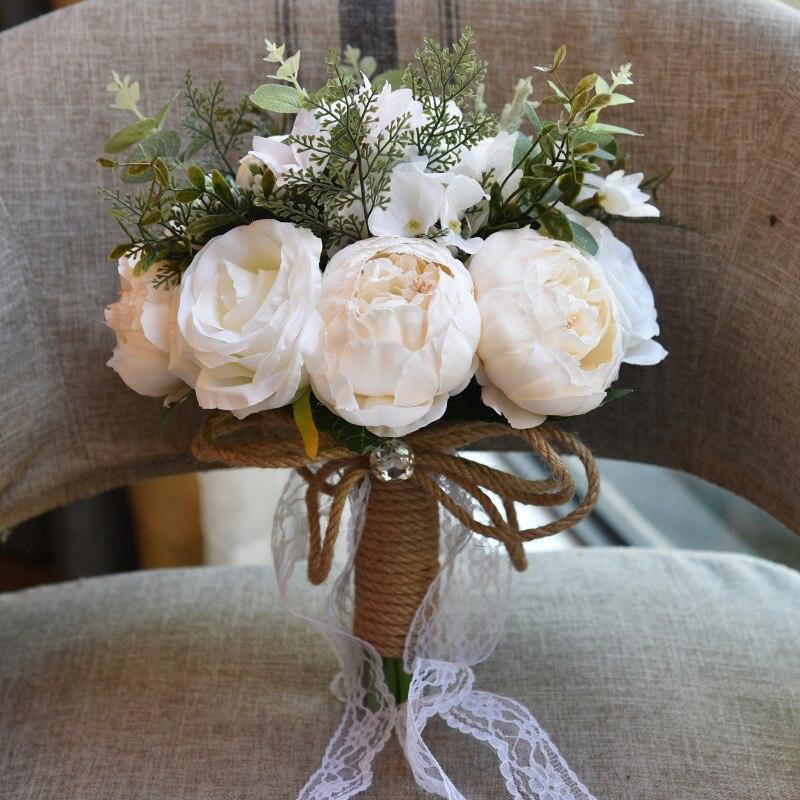 Korean Wedding Flowers: Aliexpress.com : Buy Korean Wedding Bouquets Peony