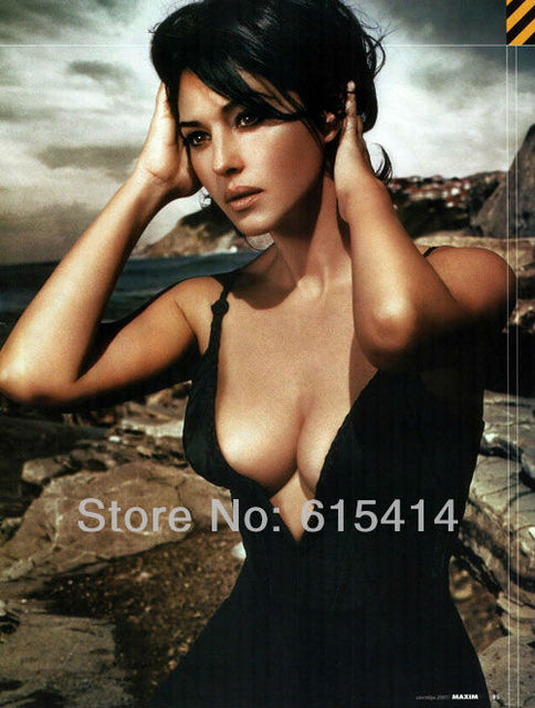01 Monica Bellucci Malena Hot Star 14x18 Inch Wall Poster With