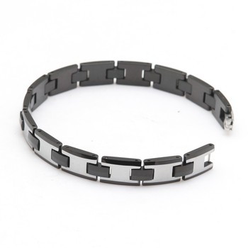 tungsten carbide bracelet Hot selling High Polished Unisex Men's Tungsten Steel bracelet Length: 22.5cm
