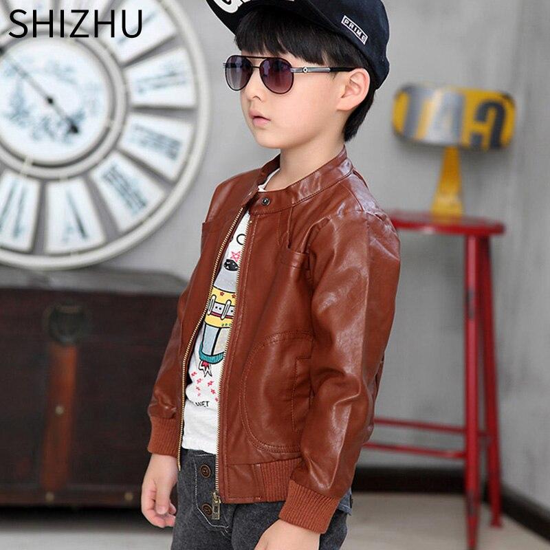 2033921d3f21 SHIZHU 2017 children coat autumn winter boys warm jacket parkas cool ...