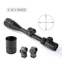 Shooter Tactical accessories Optical Blue Red Green light rifle scopes 4 16*44AOE hunting rifle scope GZ1 0349