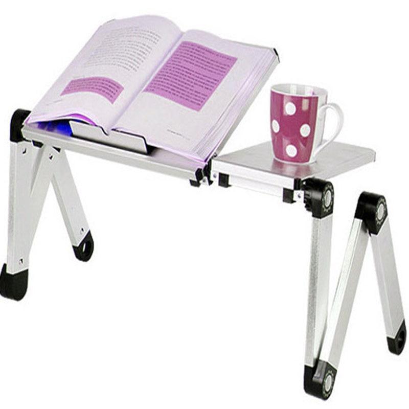 Sehr Empfohlen! Tragbare Faltbare Einstellbar Laptop Schreibtisch Computertisch Tischladeschale Für Schlafsofa Rot Gelb Blau Schwarz Weiß