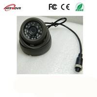 CMOS / SONY 600TVL surveillance probe AHD1080P/720P/960P 3 inch gray Korean school bus camera metal shell NTSC/PAL system