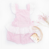 ZTKIDS Baby Girls Lovely Summer Sets Toddler Girls Ruffle Tops Shorts Kids Pink Sweet Clothes Sets
