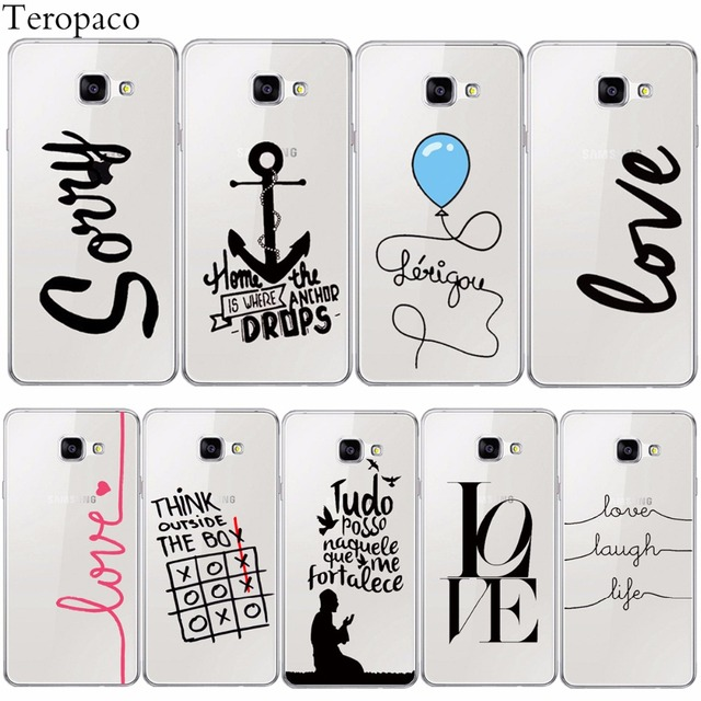 Funny French Portuguese Words Pirate Love Life Soft Silicon Phone Case For Samsung S S S