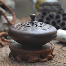 Vintage Ceramic Porcelain Incense Stove Burner Holder Buddha Censer Sticks Coils Cones Furnace Home Decor Z292