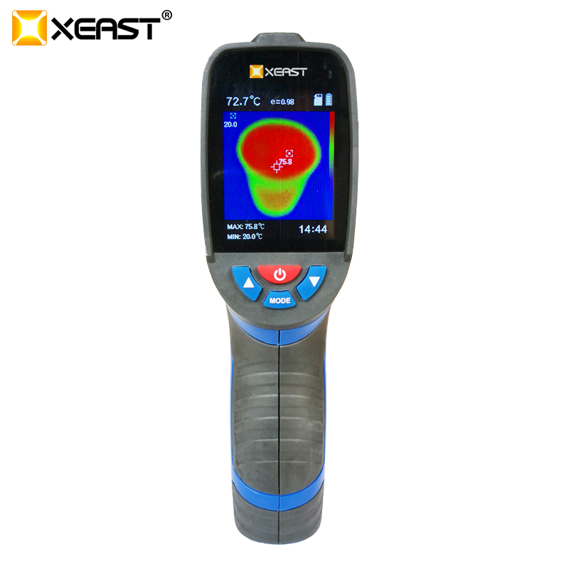 XEAST NEW ARRIVAL XE 26 2 4 inch Color Screen Handheld Thermal Imaging Camera Infrared thermometer