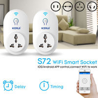 Kerui Wireless EU US UK AU Standard Switch WI FI Smart Power Socket 433MHz For Intelligent