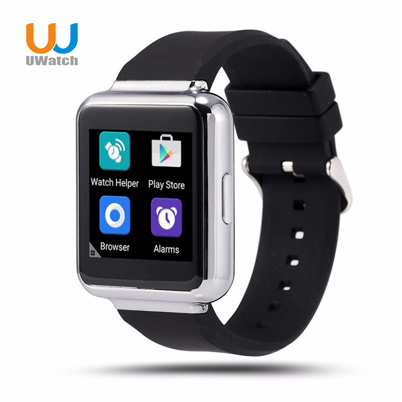 UWatch Q1 3G Smart Watch 1.54 GPS Wifi 4GB ROM Android Bluetooth Smartwatch Support Nano Sim Card wearable devices watches  floveme bluetooth smart watch android 5 1 support sim card gps intelligent wearble device sport wrist watches smartwatch relogio