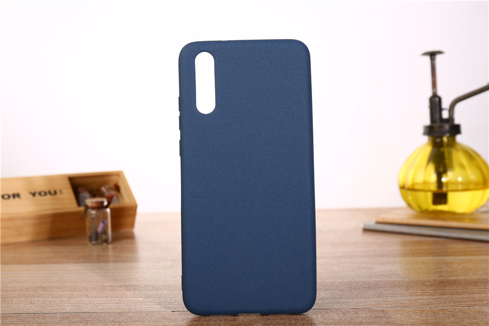 For Huawei Mate 20 Pro 20Lite 20X Case Plush Matte Feeling Soft TPU Skin Case for Huawei P20Pro Nova3 Honor8X Max Note 10 Cover in Fitted Cases from Cellphones Telecommunications