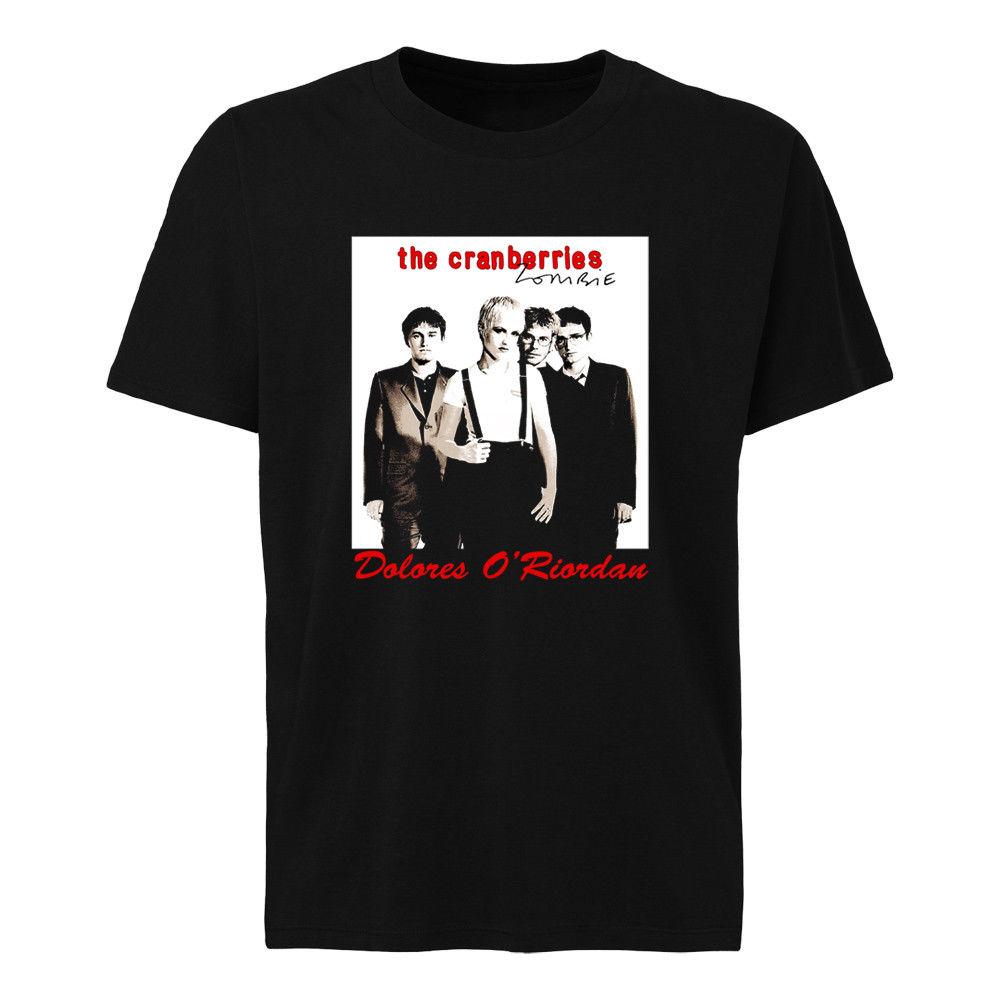 Cowberry Zombie Dolores O'riordan T-shirt Størrelser SML XL 2XL 3XL 4XL 5XL2018 Ny Brand