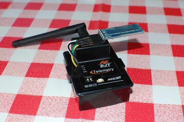 FrSky Blue-tooth module, got the telemetry on your phone