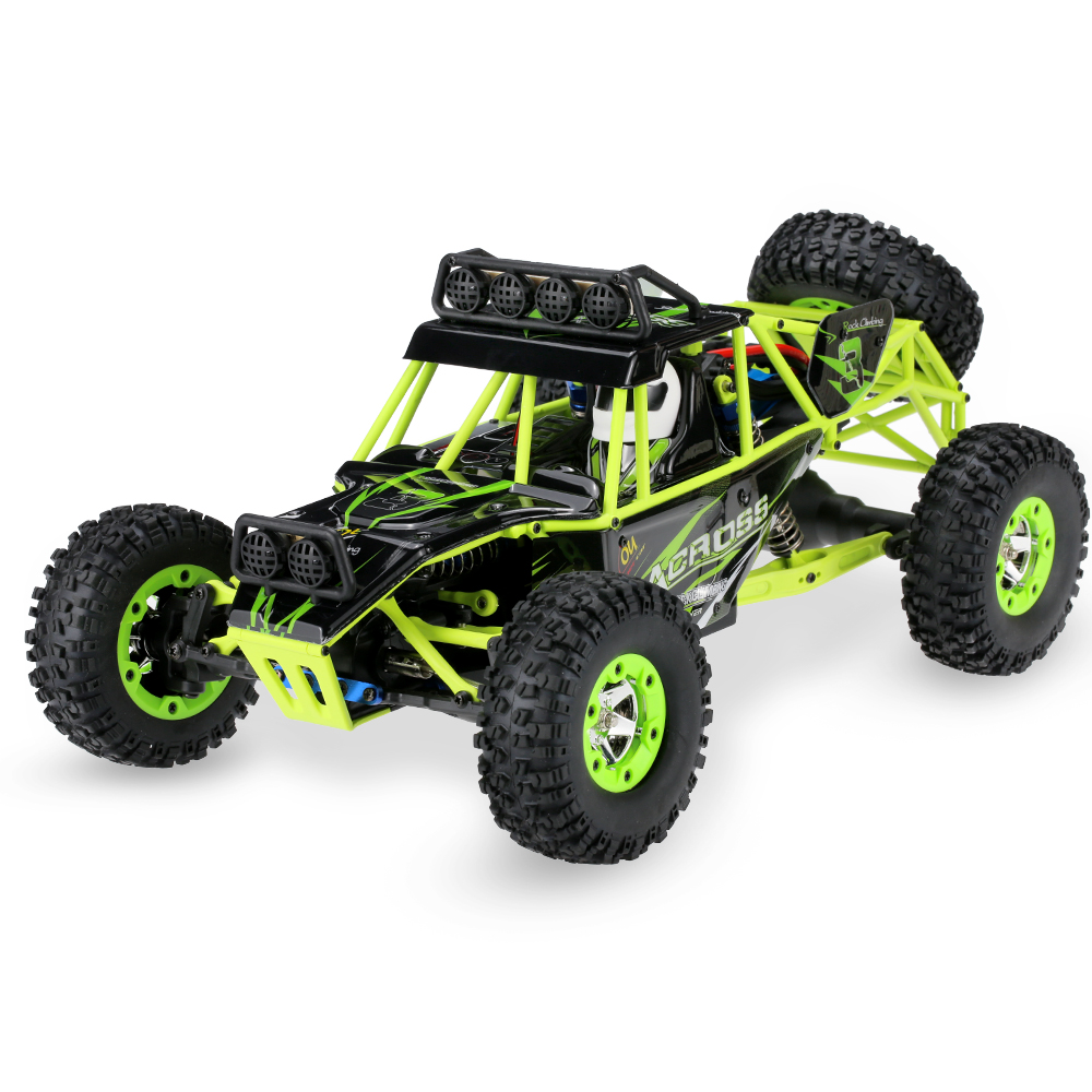 Rc Rc: Wltoys 12428 RC Car 1/12 2.4G 4WD Electric Cars Brushed